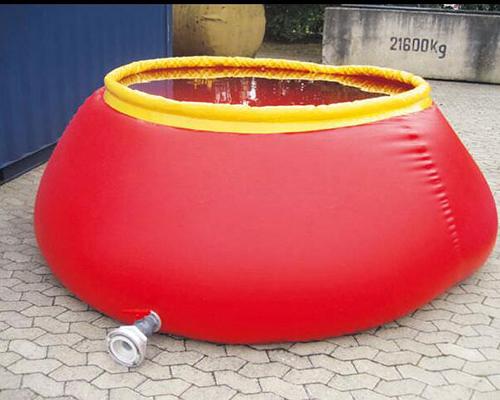 圆锥形水囊生产