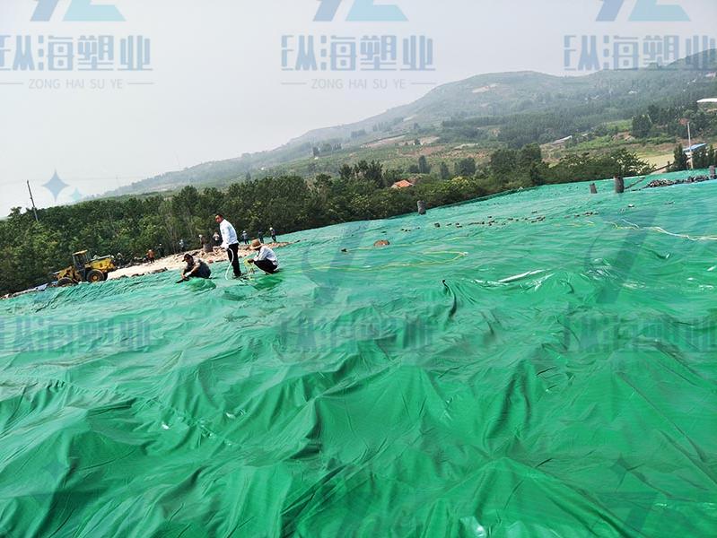 垃圾填埋场覆盖防尘网