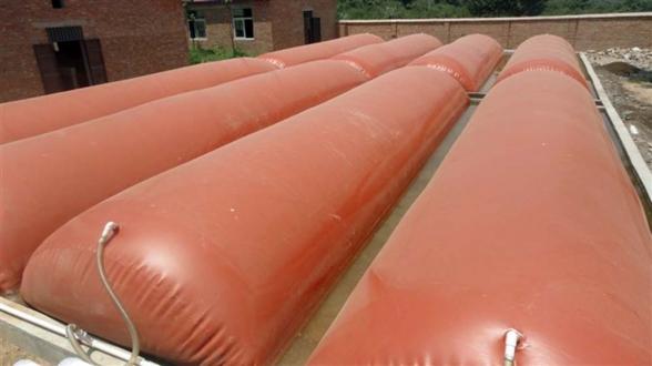 红泥养殖沼气发酵袋
