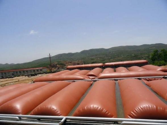 红泥大型养殖沼气发酵袋