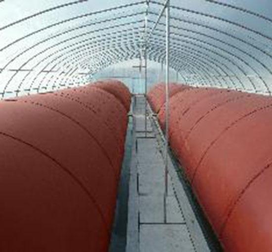 红泥中大型养殖沼气发酵袋